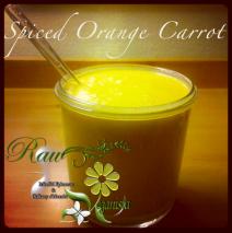 Spiced Orange Carrot Blend