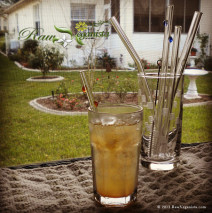 Review & Giveaway: Glass Dharma Straws