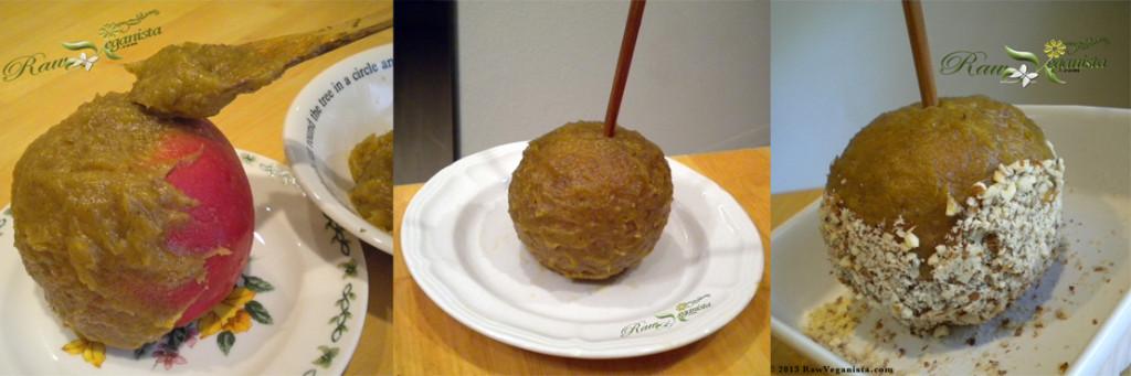 DIY Raw Vegan Caramel Apples