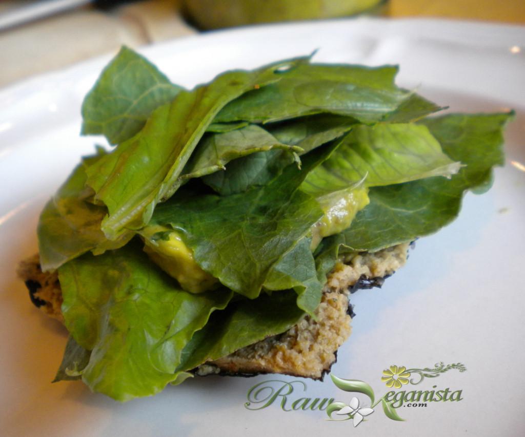 Layered Lettuce & Guacamole