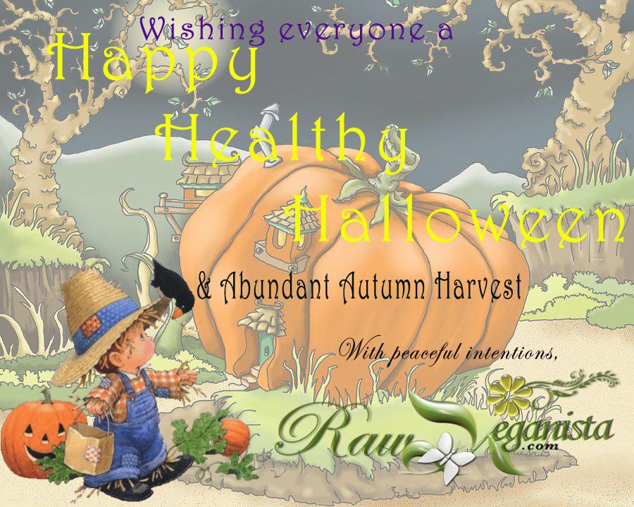 Happy Healthy Halloween from RawVeganista.com