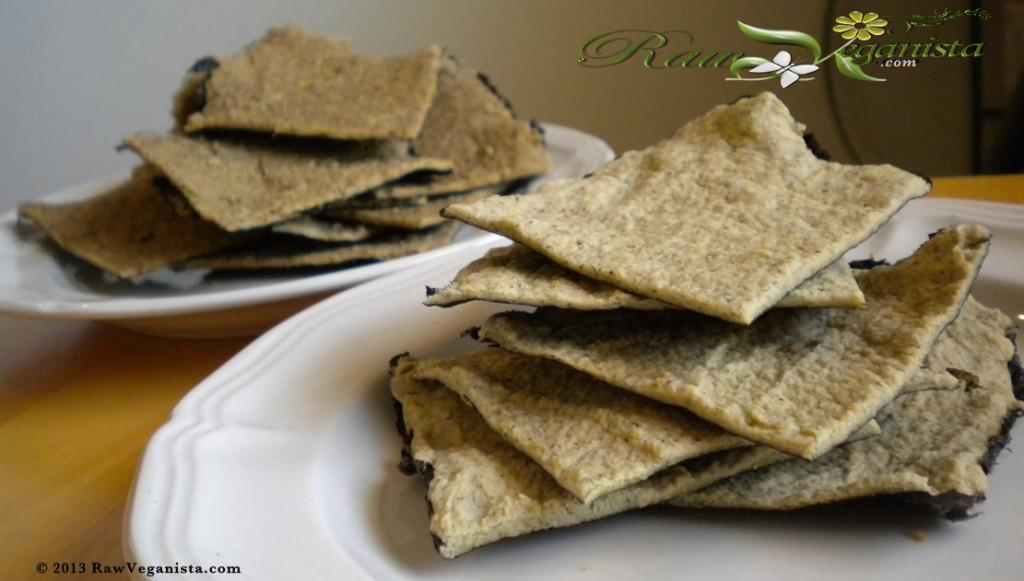 Savoury Raw Nori Crackers