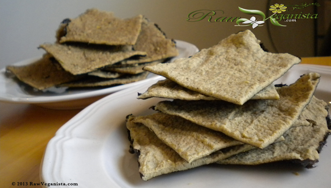 Savoury Nori Crackers