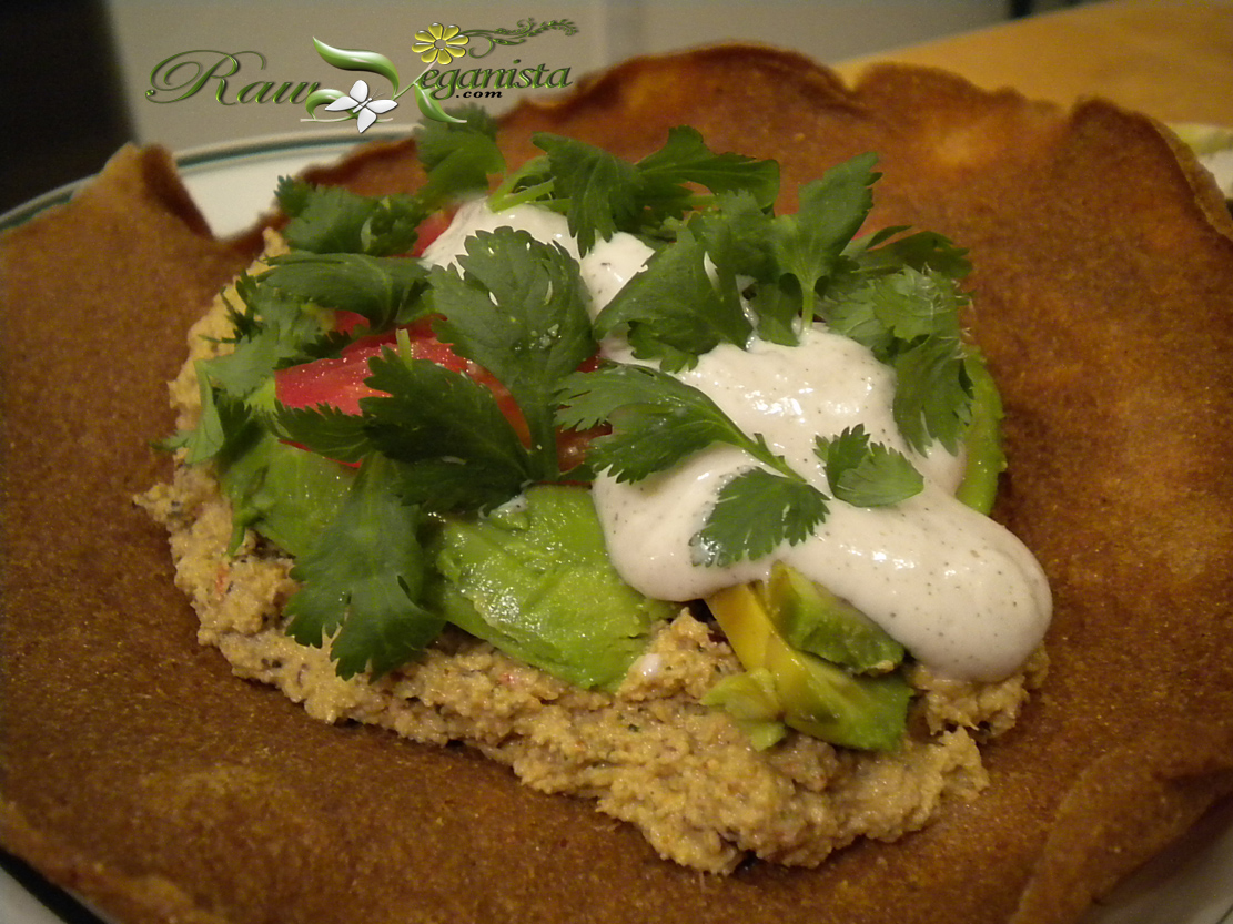 "Raw Vegan ""Refried Beans"""