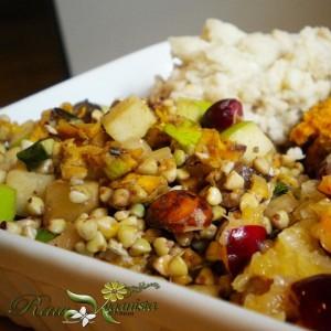 Herbed Buckwheat & Apple Salpicon