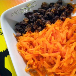 Shredded Carrots & Chopped Figs