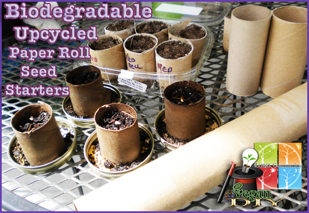 Biodegradable Paper Roll Seed Starters