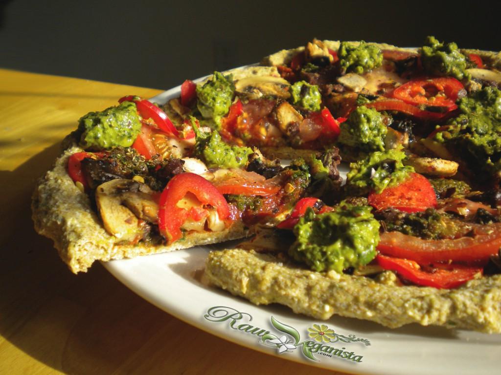 Pizza Italiano - Avocado Pesto Redux