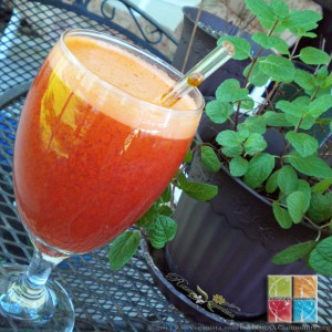 Carrot Blood Orange Juice