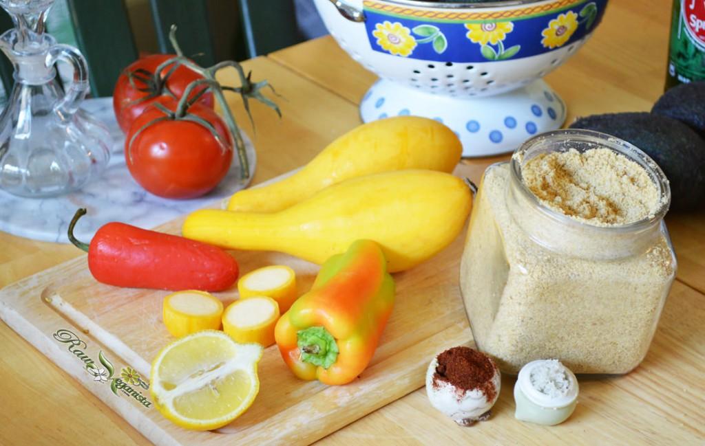 "Simplistically Seasonal Raw Vegan ""Nacho Cheese"""