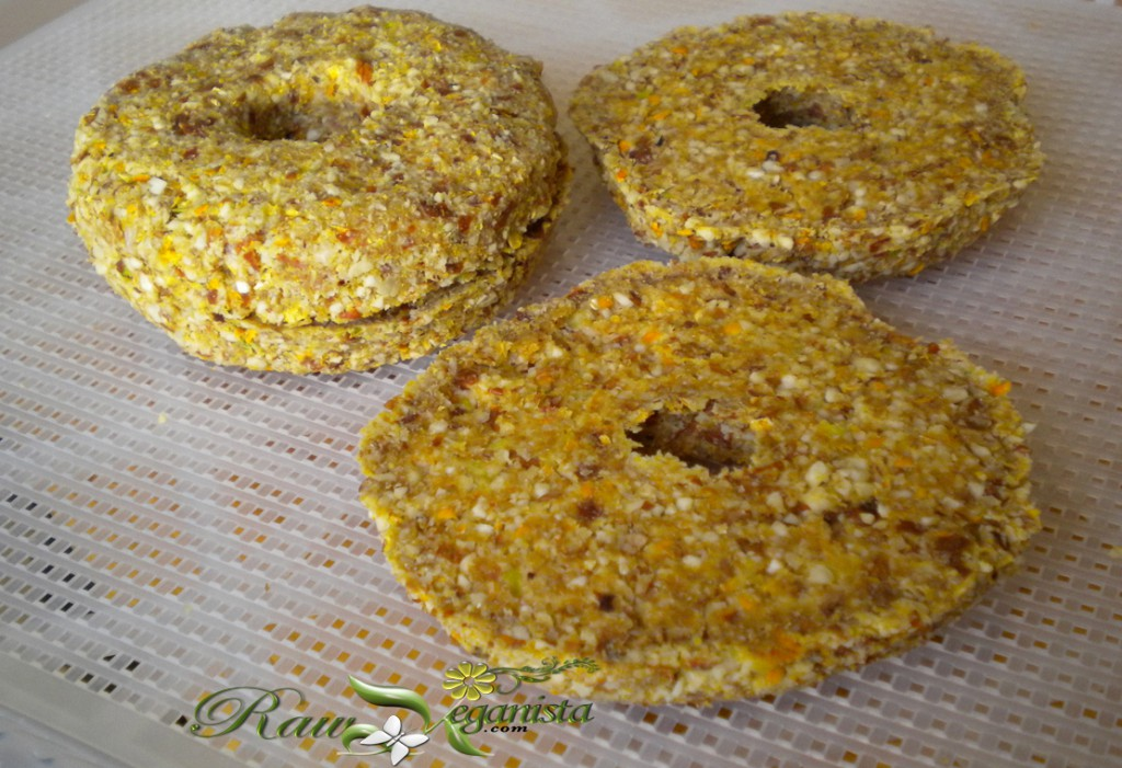 Raw, Vegan, Gluten-free/Grain-free bagels