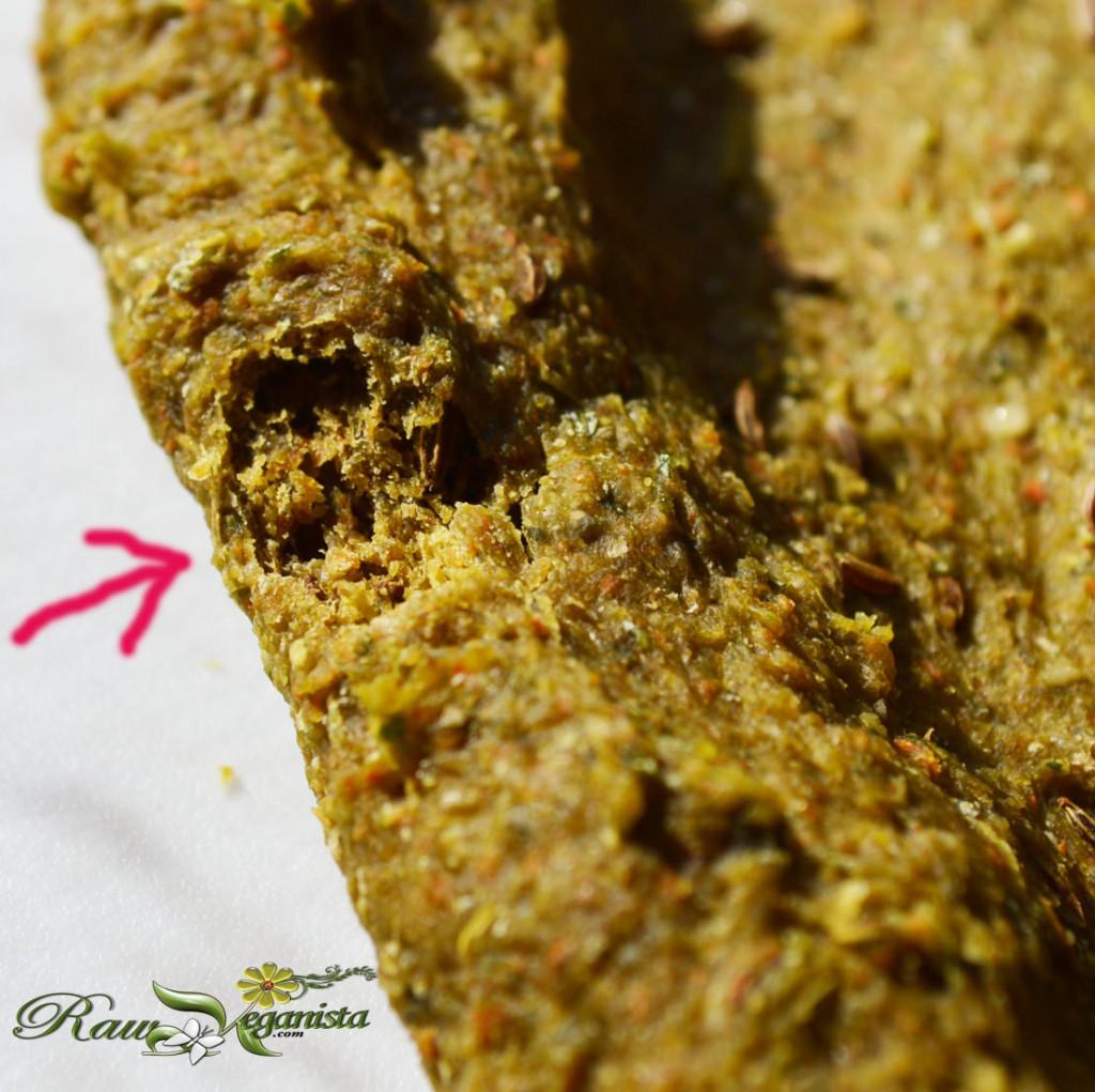 Raw, vegan, gluten-free/grain-free rye