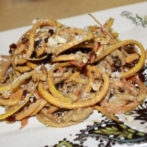 Lunar Noodling – Heirloom Apple/Butternut Pasta & Sunflower Seed Butter Sauce