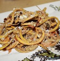 Lunar Noodling – Heirloom Apple/Butternut Pasta & Sunflower Seed Butter Sauce